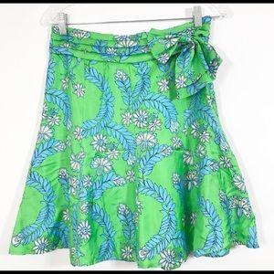 Silk Lilly Pulitzer skirt